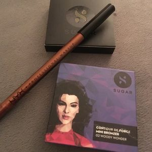 Other - Sugar Bronzer and NYX Extreme Shine eyeliner